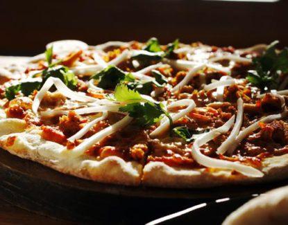 pizza sambal matah