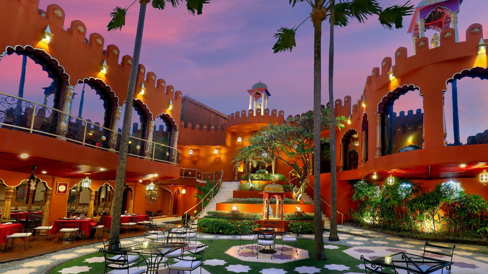 Restoran Prana Bali, Santapan Lezat dengan Nuansa Bangunan ala Istana di India