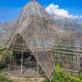 rumah bambu pengalon