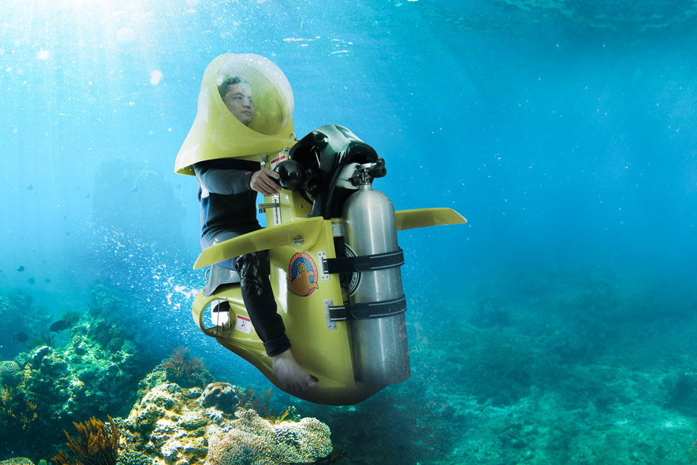 Scooter Underwater Bali, Cara Asyik dan Keren Nikmati Pemandangan Bawah Laut Pulau Dewata