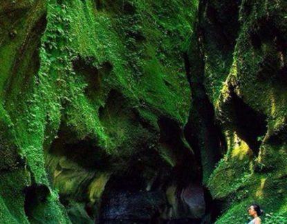 tebing hijau undisan