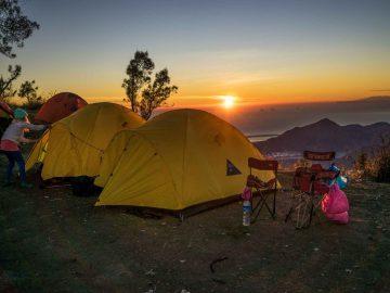 tempat camping di kintamani