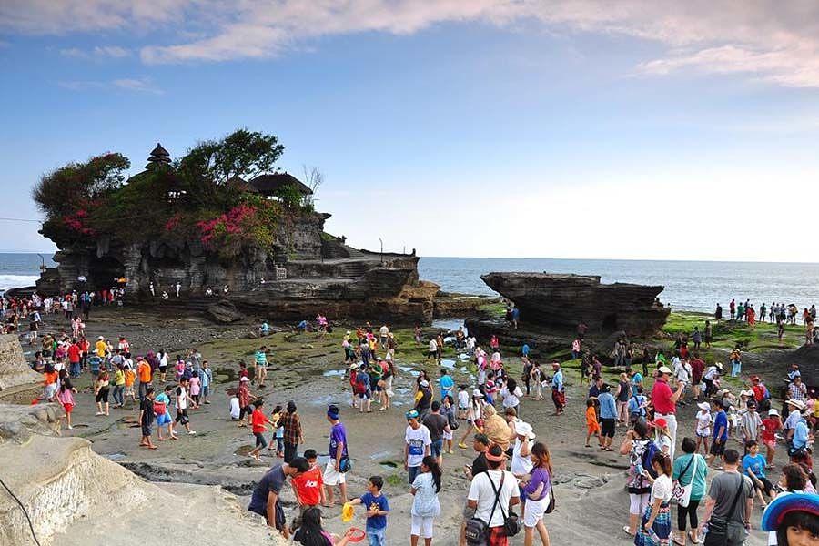Tanah Lot Bali Jadi Pelopor Penerapan E-Ticketing untuk Akses Masuk Wisatawan