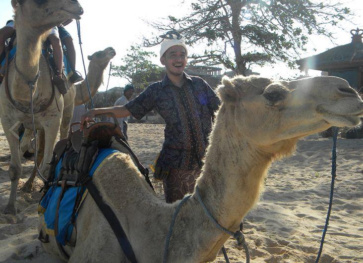 wisata bali camel safari